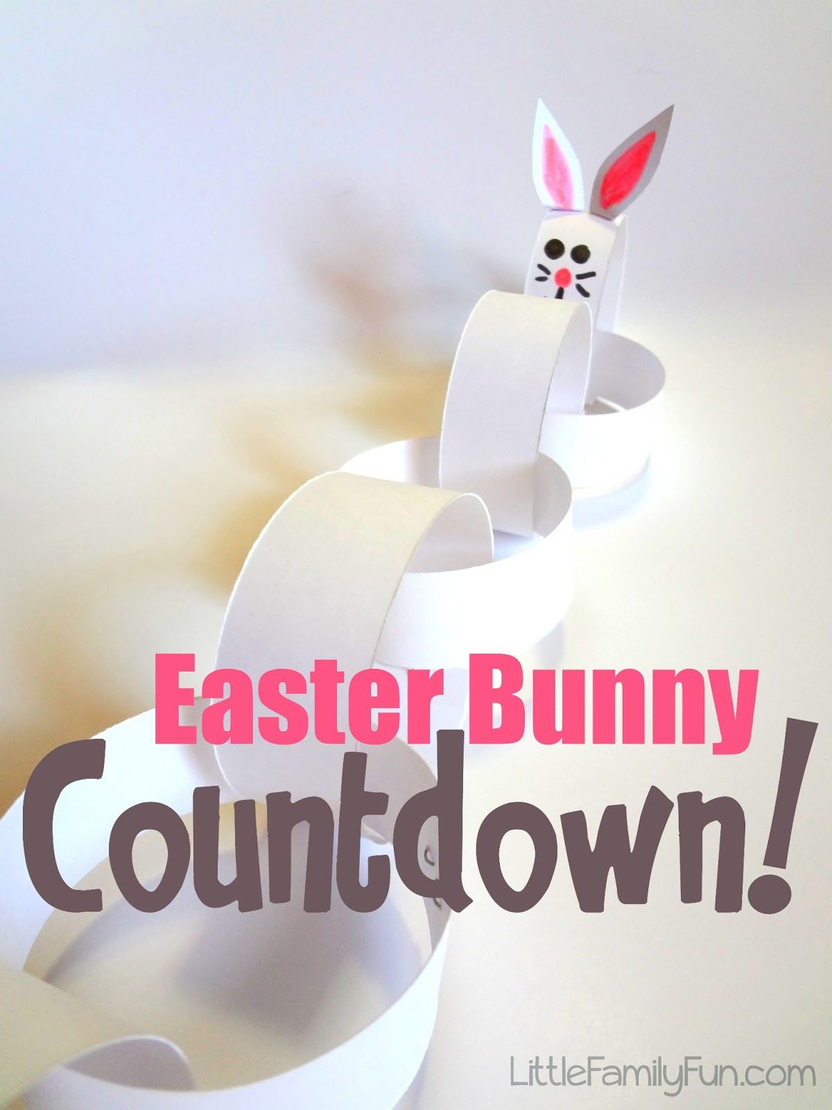Little Family Fun Easter Bunny Countdown
