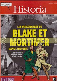 Historia, les personnages de Blake et Mortimer, 2014