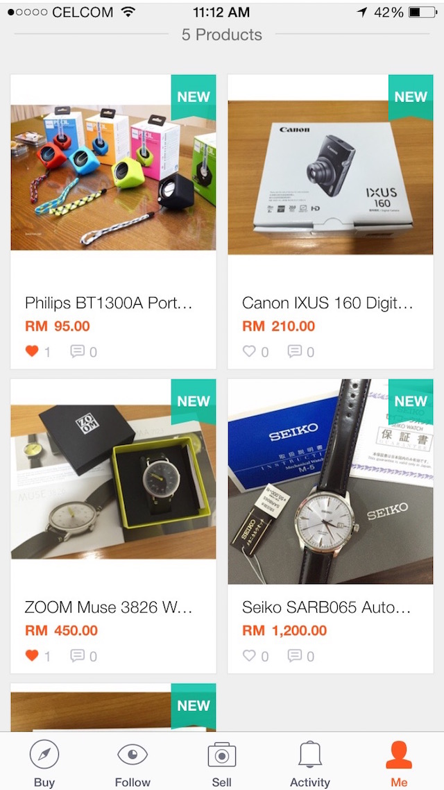 Come buy my items? Just search for 'isaactanjs' in Shopee and you'll find me