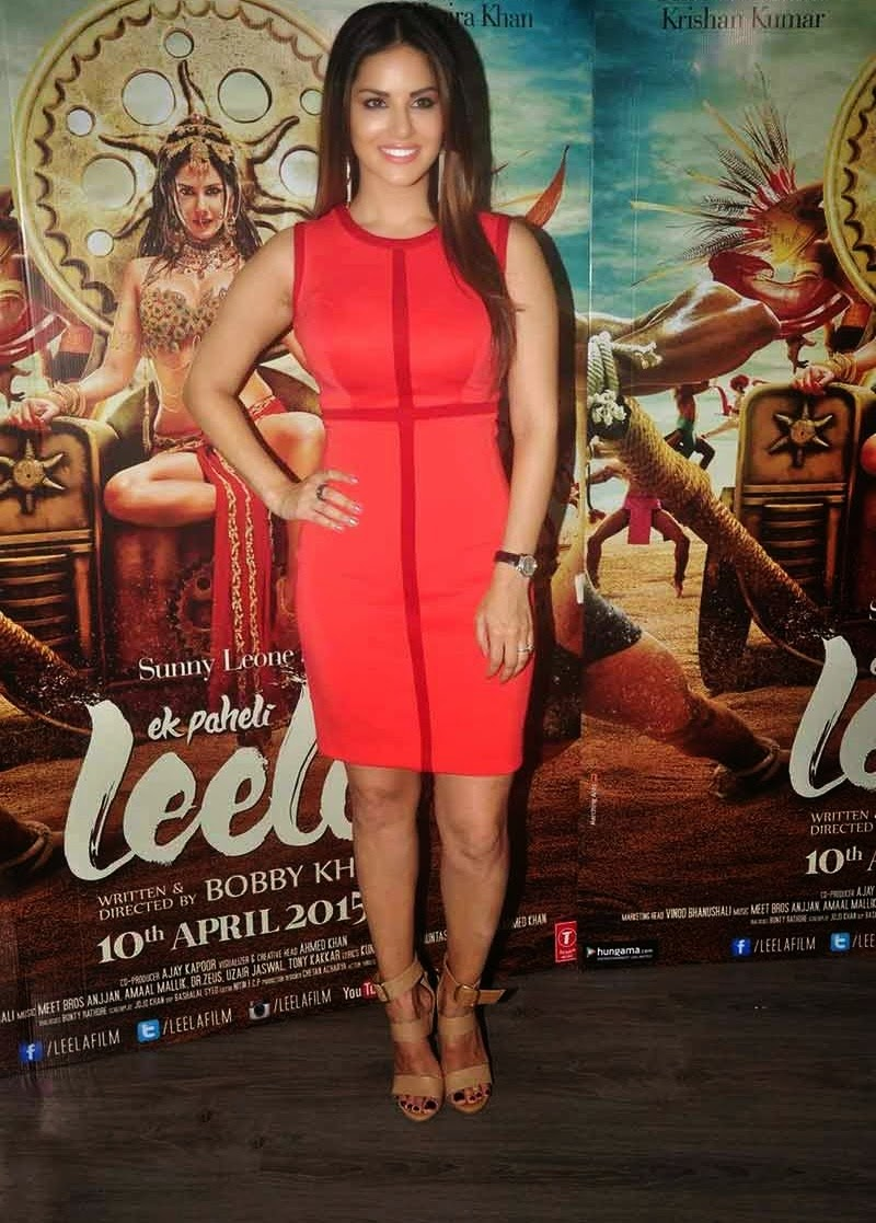 Sunny Leone Ek Paheli Leela Bollywood Movie Press Meet Photos-9822
