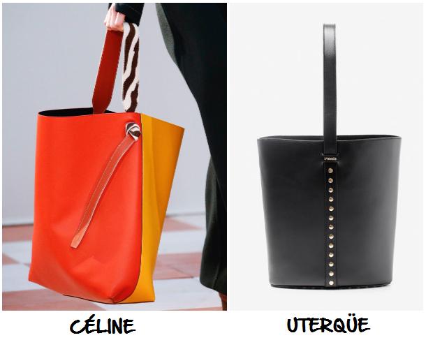 clones 2016 bolso Céline Uterqüe