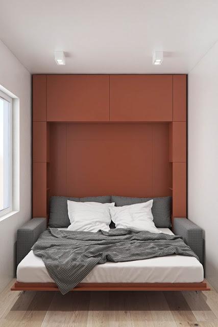 Desain Kamar Tidur Nuansa Merah