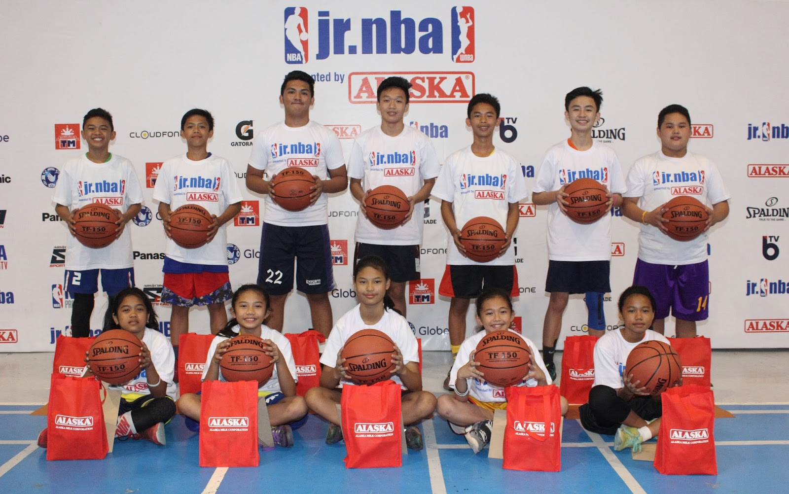 12 Young Athletes will represent Mindanao in the Jr. NBA Philippines 2017 National Training Camp