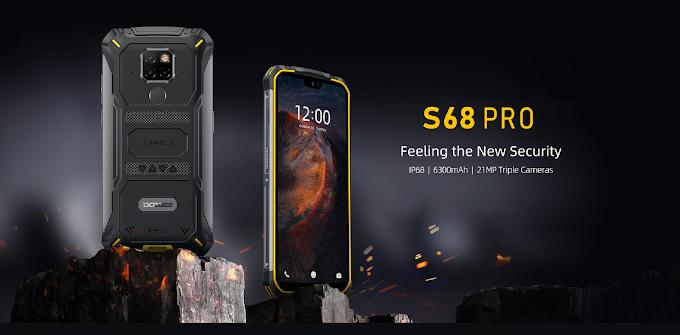 SORTEIO! Smartphone Doogee S68Pro!