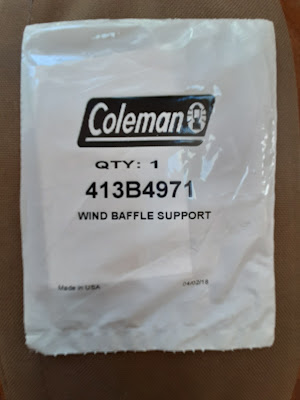 Coleman Replacement Wing Baffle Support Part # 413B4971