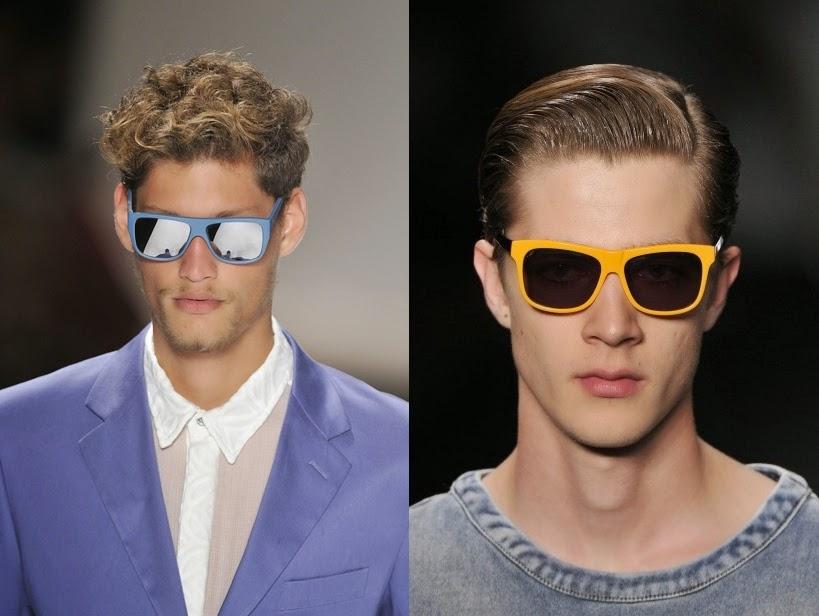33933a7854d3c Também oque vai estar na tendência são óculos maiores e de cores diferentes.