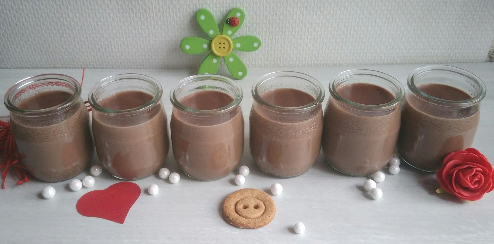 Petits pots de cr me nutella comme la laiti re nathychef - Petit pot de nutella ...