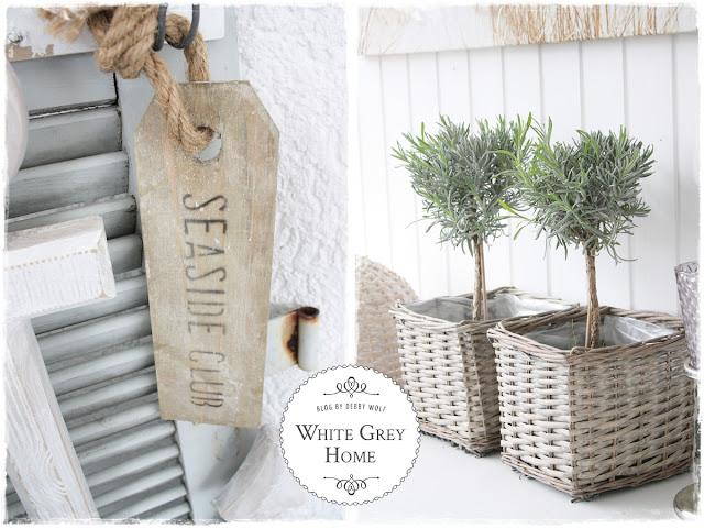 White grey home: gepimpter terrassen sitzplatz