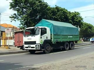 Begini Wujud Truck Isuzu Giga Sebelum Resmi Dipasarkan Di Indonesia Pada Tahun 2011
