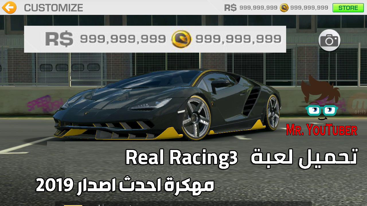 تحميل لعبة real racing 3 مهكرة 2019