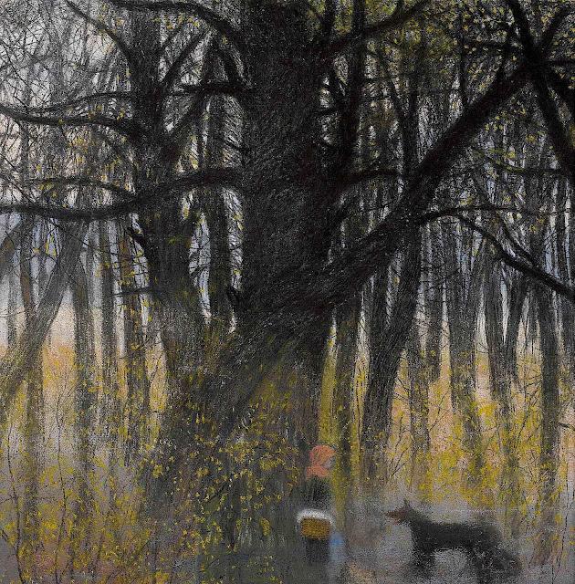 Léon Spilliaert, Little Red Riding Hood and the Wolf