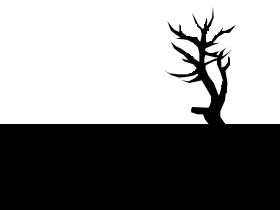 枯れ木(素材)
