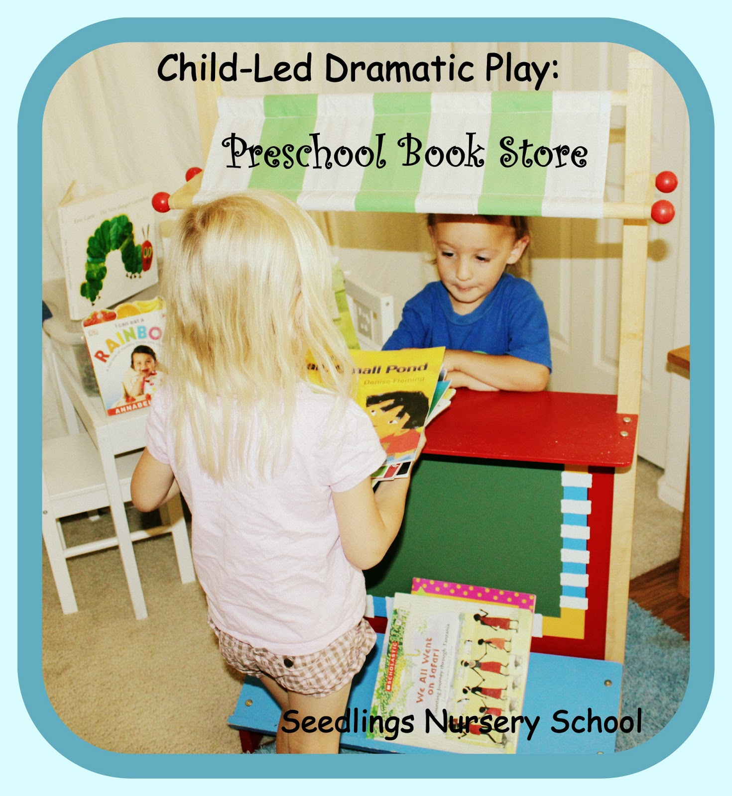 Seedlings Nursery School Child Led Dramatic Play
