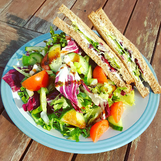 Sandwich and Side Salad