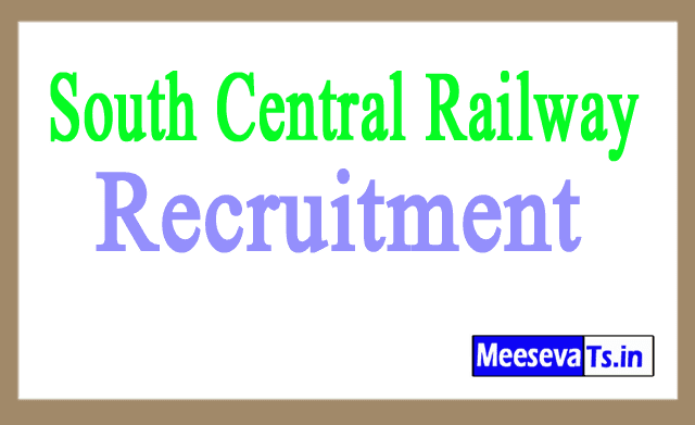 South Central Railway SCR Recruitment