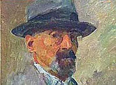 Matija Jama, Self Portrait, Portraits of Painters, Fine arts