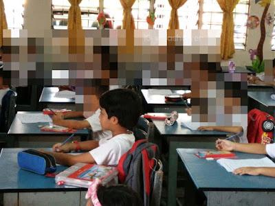 Aiman Haris and Dual Language Program (Standard 1 DLP)