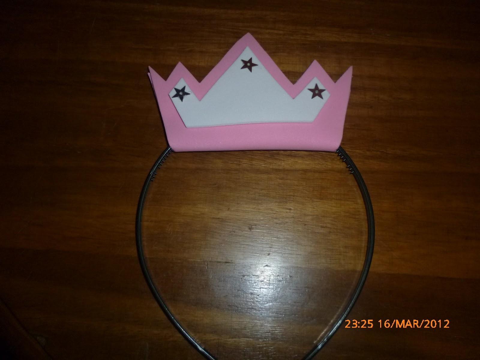 Molde Corona De Princessa Peach