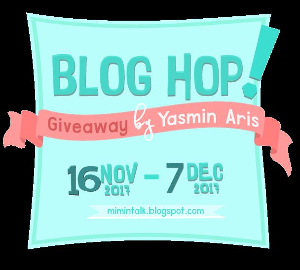 Blog Hop! Giveaway by Yasmin Aris