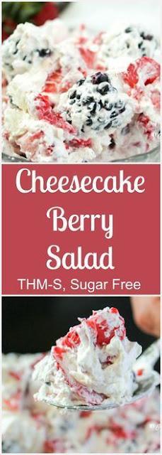 Cheesecake Berry Salad