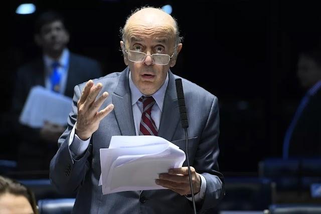 Senador José Serra é internado com covid-19 em São Paulo