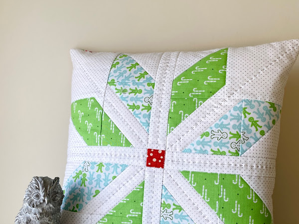 North Star Christmas Cushion