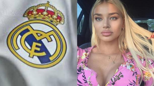 نجم ريال مدريد الجديد يترك زوجته وطفله لأجل عارضة أزياء حسناء (صور)