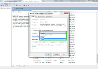 Cara Disable atau Menonaktifkan Fitur Windows Update Pada Windows 7