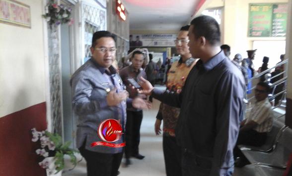 Wabup Lampung Utara Berang, Puluhan Pegawai RS Ryacudu Datang Terlambat