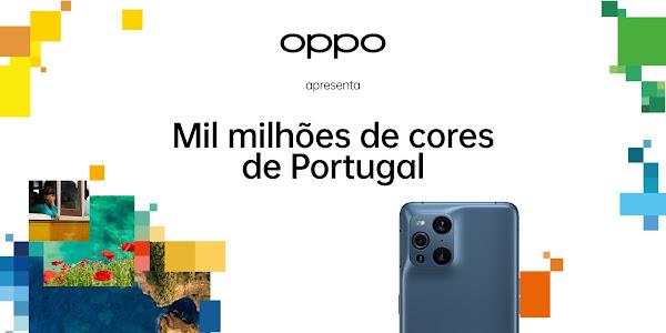"""OPPO quer descobrir as """"Mil Milhões de Cores de Portugal"""""""
