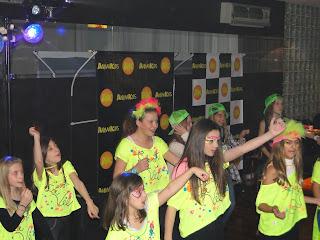 minidisco bailes preadolescente