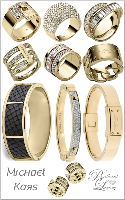 Brilliant Luxury ♦ MICHAEL KORS Jewelry