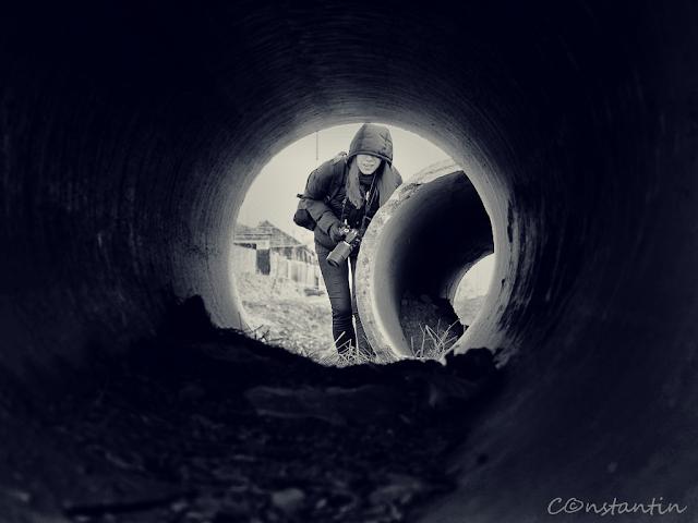 Fotografie printr-un tub - blog FOTO-IDEEA