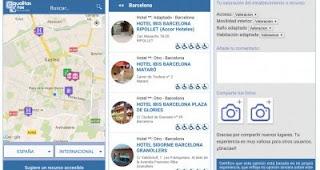 Imagen de una búsqueda utilizando la aplicación tripAdvisor