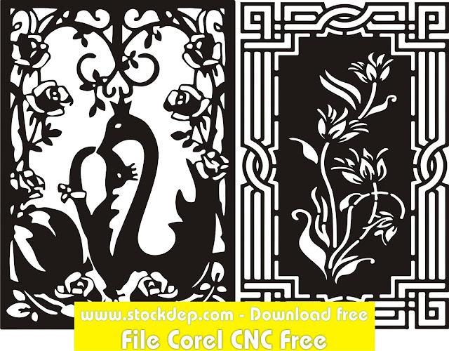 Mẫu thiết kế Khung viền CNC miễn phí
