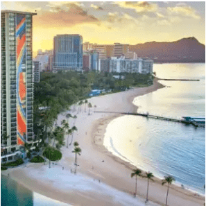 $1,398 for 2, 4-Night Waikiki Hilton Beach Resort Flight & Hotel Vacation