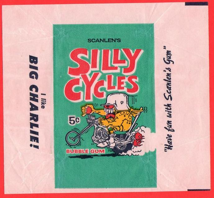 Whiskey Tango Foxtrot Movie Quote: Donruss Silly Cycles Cards – 1969-?
