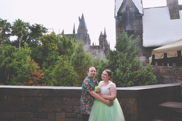 Florida Wizarding World of Harry Potter Hogwarts Wedding