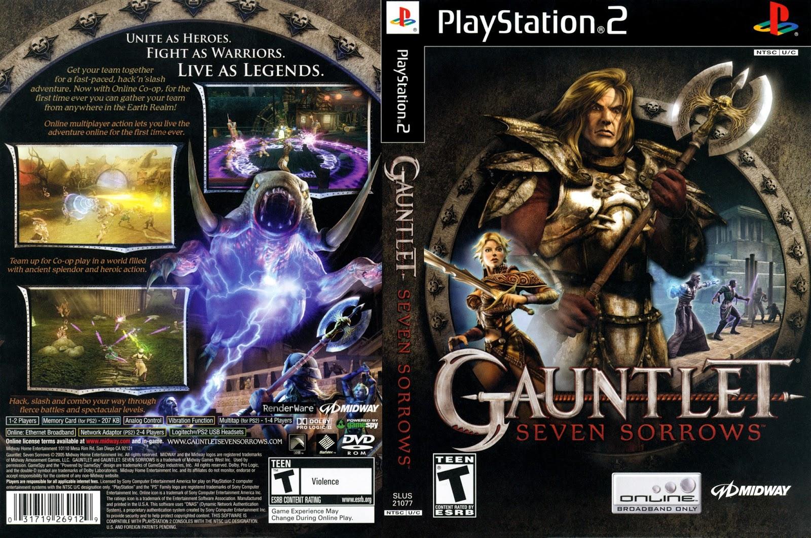 Gauntlet Seven Sorrows Retro Reflections Chalgyr S