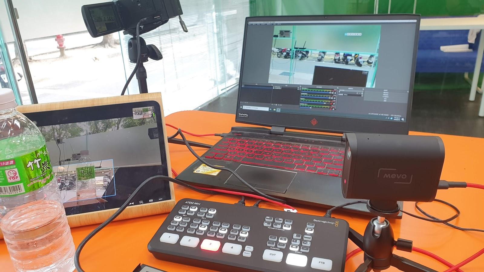 MEVO Start直播攝影機開箱測試  臉書1080p直播   USB webcam模式   NDI模式   HDMI輸出接導播機ATEM MINI – FEBON