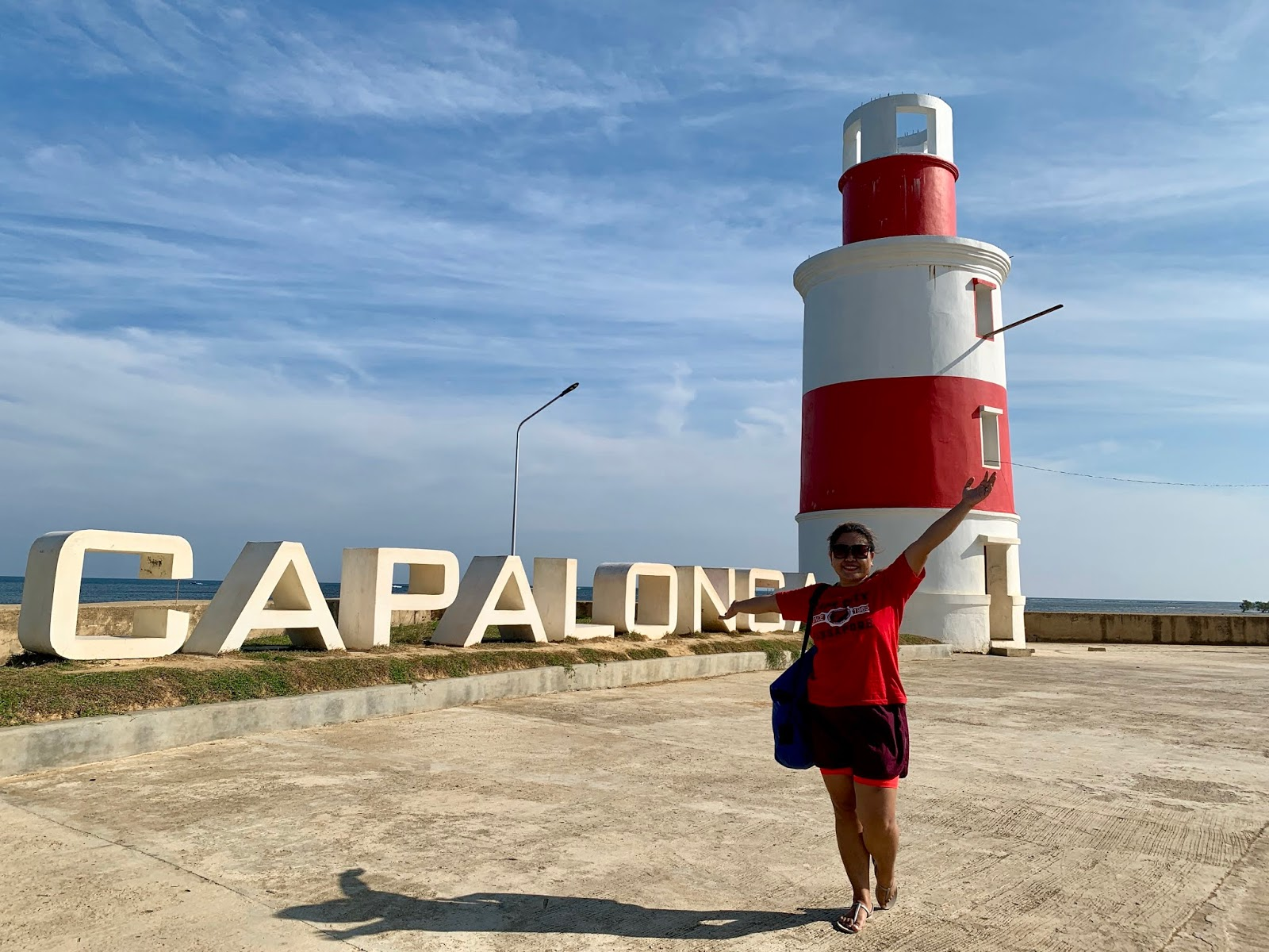 Capalonga Sign and Lightouse