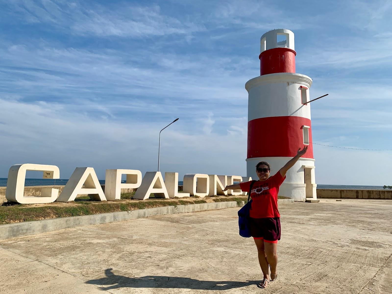 Capalonga Sign and Lightouse