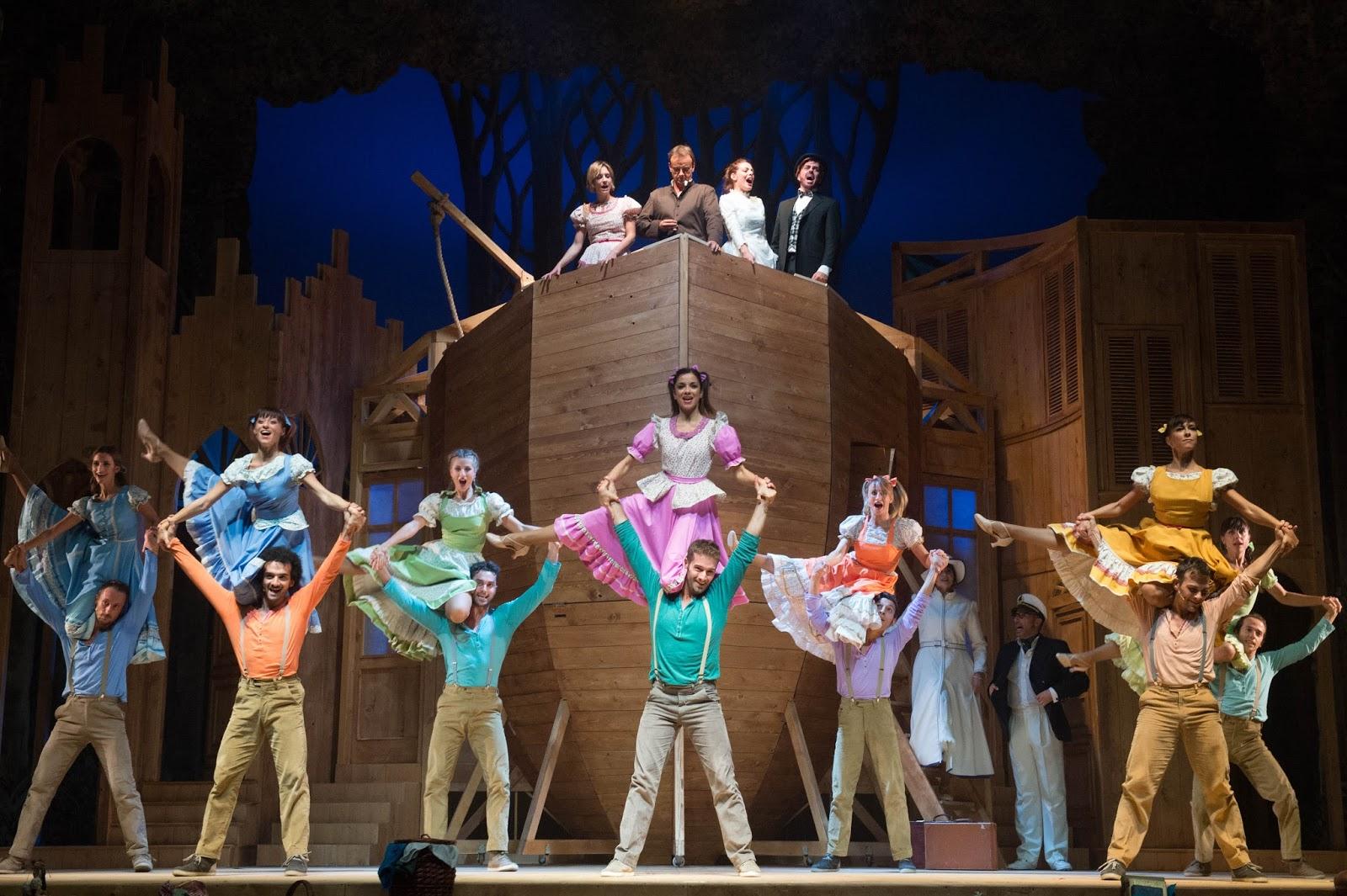 Aggiungi un posto a tavola al teatro europauditorium claudia grohovaz - Aggiungi un posto a tavola musical ...