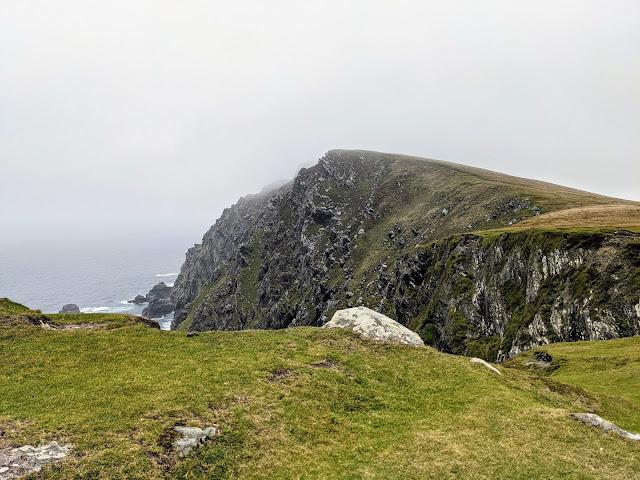 Cliffs along the Bray Head Loop Trail on Valentia Island Ireland