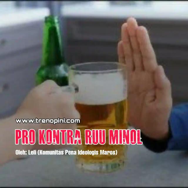 RUU minuman Alkohol kembali dibahas di Badan Legislatif DPR usai diusulkan oleh 21 anggota DPR RI yang berasal dari tiga fraksi berbeda yakni PPP, PKS, serta Gerindra. Hal tersebut diketahui dari dokumen penjelasan pengusul RUU Minol yang diunggah dalam situs resmi DPR pada Rabu (11/11).