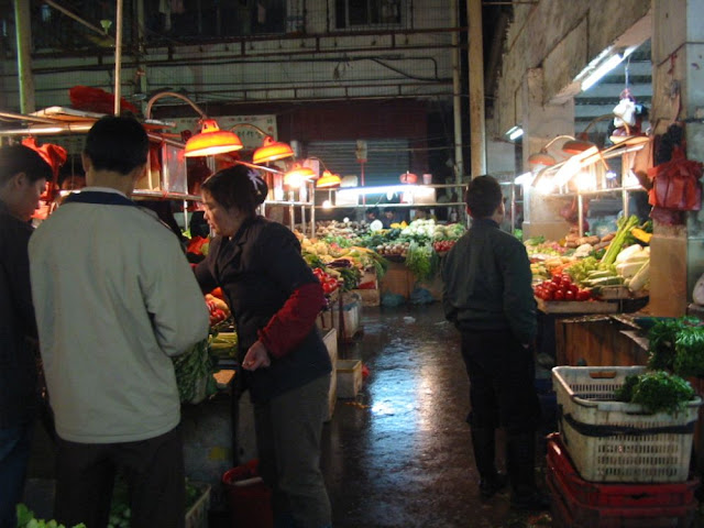 Gemüsemarkt in Südchina
