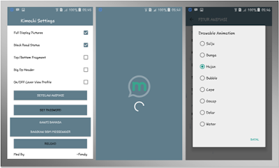 BBM Tema Messenger Fitur Animasi Bergerak New V.3.0.0.18 APK