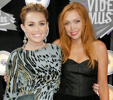 Miley Cyrus Is Vied by Her Sis