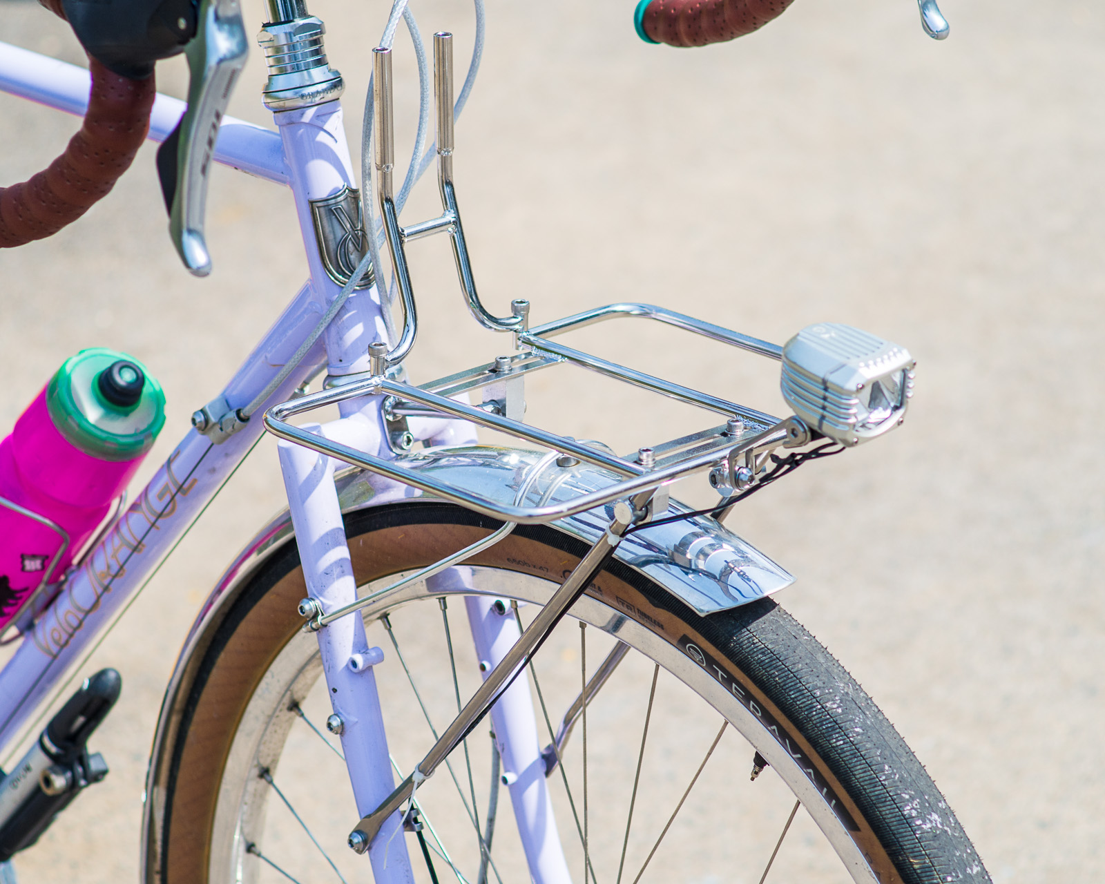 Velo Orange Randonneur Front Rack for bikes with Cantilever Brakes