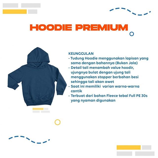 Keunggulan Hoodie Premium